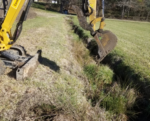 Ditch Excavation